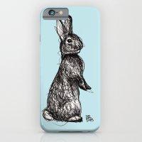 Blue Woodland Creatures - Rabbit iPhone 6 Slim Case