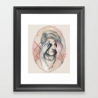 14/02 : Love Is A Blind Framed Art Print