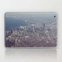Chicago From The Sky Col… Laptop & iPad Skin