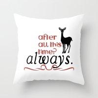Harry Potter Severus Sna… Throw Pillow