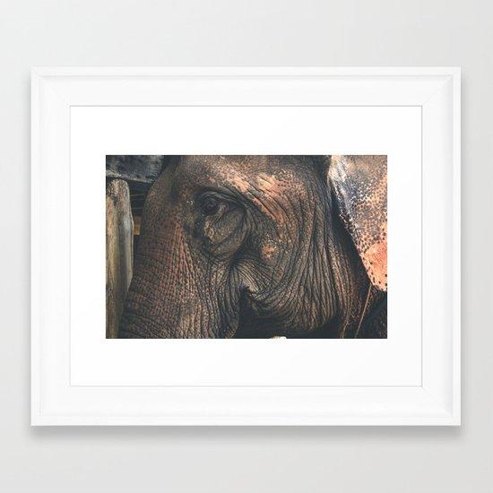 Bon Framed Art Print