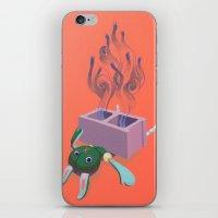 Breezeblocks iPhone & iPod Skin