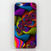 Braided Rainbow iPhone & iPod Skin
