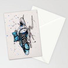 Blue Chucks Stationery Cards