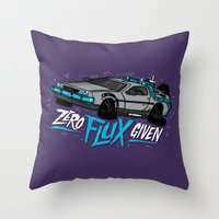 Zero Flux Given Throw Pillow