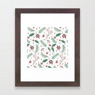MERRY CHRISTMAS6 Framed Art Print