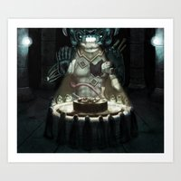 Sacrifice Art Print