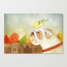 A Song for Sweetie Canvas Print