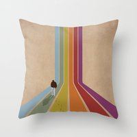Throw Pillow featuring Lonely by Whitney Retter