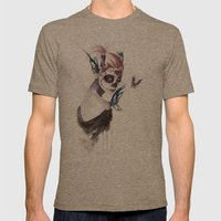 Mourning Mens Fitted Tee Tri-Coffee SMALL