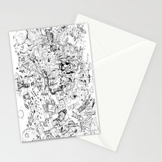 Fragments of dream Stationery Cards