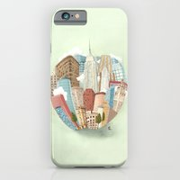 iPhone & iPod Case featuring The Big Apple and I by Arianna Usai