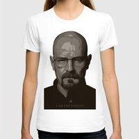 Breaking Bad  Womens Fitted Tee White SMALL