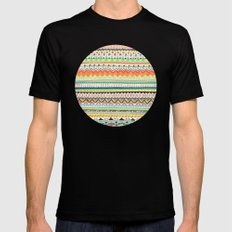 Pattern No.3 Mens Fitted Tee SMALL Black