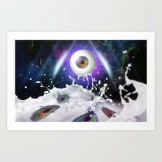 They are watching us! Art Print
