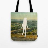walking in tuscany Tote Bag