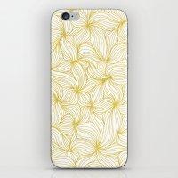 Golden Doodle Floral iPhone & iPod Skin