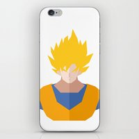 Goku SSJ iPhone & iPod Skin