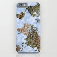CAMO WORLD ATLAS MAP (BLUE) Slim Case iPhone 6s