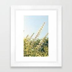 Go with the wind Framed Art Print