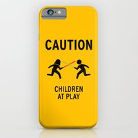 iPhone & iPod Case featuring Children at Play by David Schwen