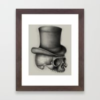 absinthe was my refuge Framed Art Print