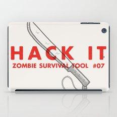Hack it - Zombie Survival Tools iPad Case