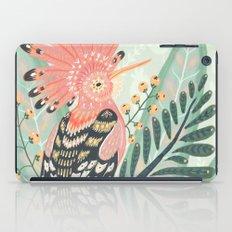 Hoopoe Bird iPad Case