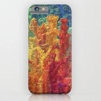 iPhone Cases featuring Castle Block by JR Schmidt