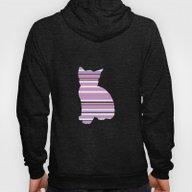 Kitten Stripes Hoody