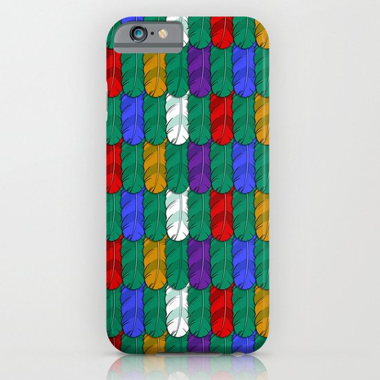 Feathers Pattern iPhone & iPod Case