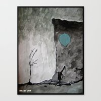 Heaven Is Abandoned/This… Canvas Print