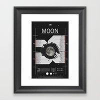 OMG SPACE: Moon 1950 - 1… Framed Art Print