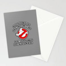 Who Ya Maybe Gonna Call? Stationery Cards