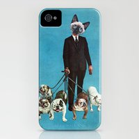 iPhone Cases featuring The Master by Eugenia Loli