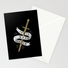 It Is Not Over Stationery Cards