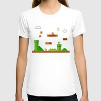 mario T-shirts featuring Mario by idaspark