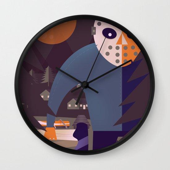 Final Chapter Wall Clock