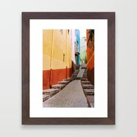 Guanajuato Framed Art Print