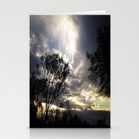 Peaceful And Powerful Su… Stationery Cards
