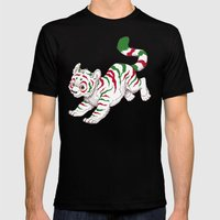 Candy Tiger Mens Fitted Tee Black SMALL