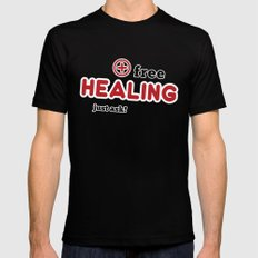 Free Healing SMALL Black Mens Fitted Tee