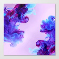 Ink Drops Canvas Print