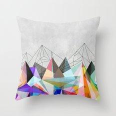 Colorflash 3 Throw Pillow