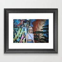 Youth In Revolt Framed Art Print