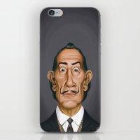 Celebrity Sunday ~ Salvador Dali iPhone & iPod Skin