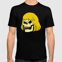 Skeman Mens Fitted Tee Black SMALL