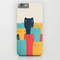 cats iPhone & iPod Cases featuring Cats by Volkan Dalyan