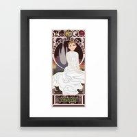 Childlike Empress Nouvea… Framed Art Print