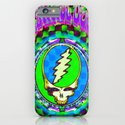 Grateful Dead #9 Optical Illusion Psychedelic Design iPhone & iPod Case